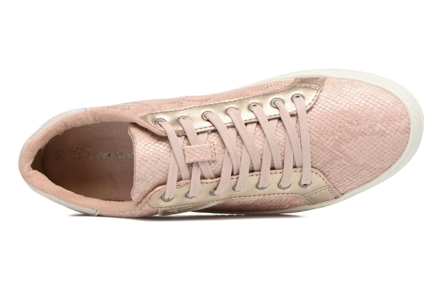Baskets Tamaris Narcisse Rose vue gauche
