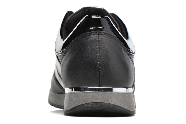 Baskets Tamaris Œillet Noir vue droite
