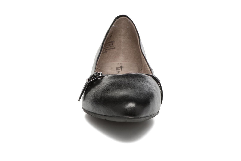 Ballerines Tamaris Pétunia Noir vue portées chaussures