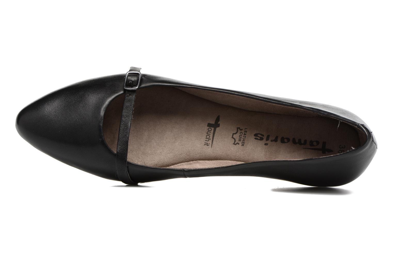 Pétunia Black leather