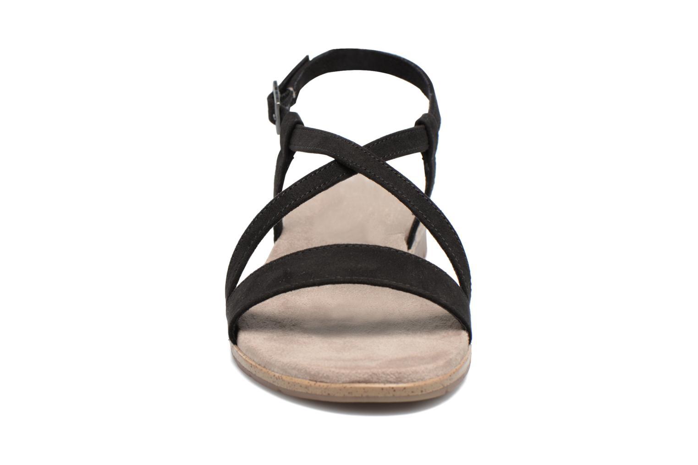 Sandales et nu-pieds Tamaris Mélisse Noir vue portées chaussures