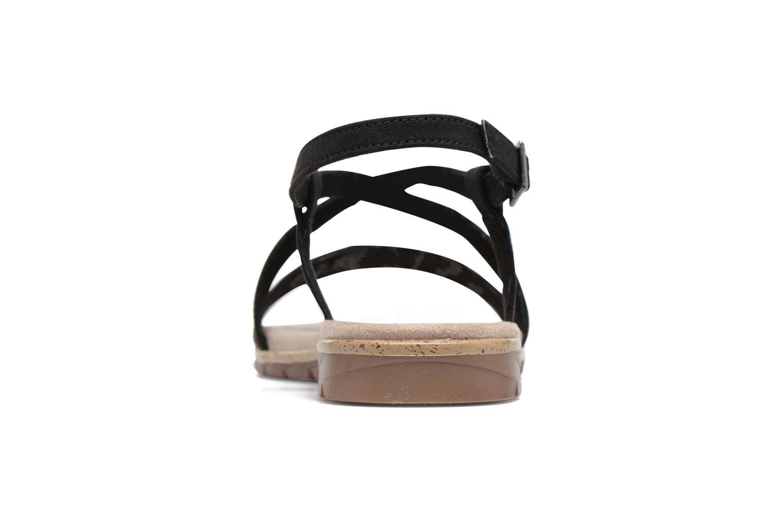 Sandales et nu-pieds Tamaris Mélisse Noir vue droite