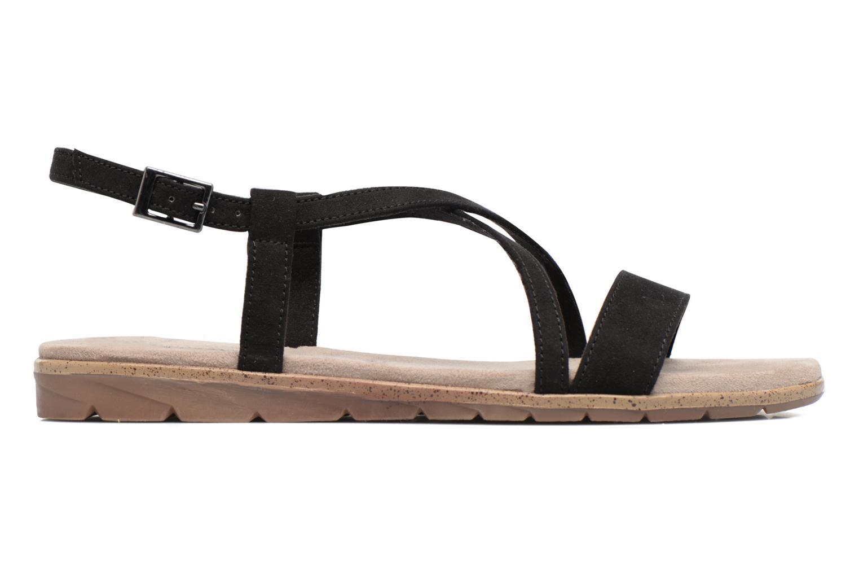 Sandales et nu-pieds Tamaris Mélisse Noir vue derrière