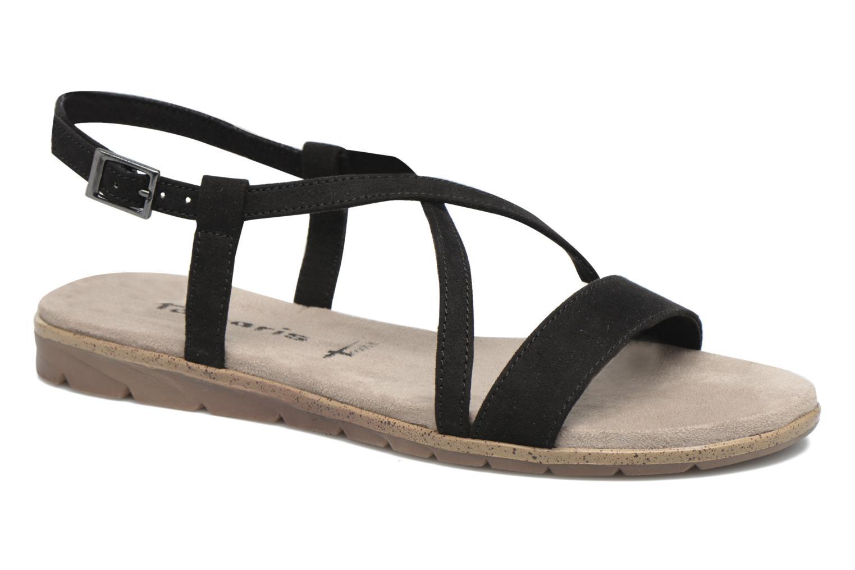 Sandales et nu-pieds Tamaris Mélisse Noir vue détail/paire