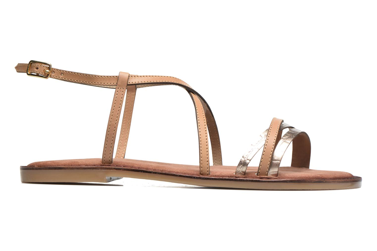 Sandals Tamaris Cabaret Brown back view