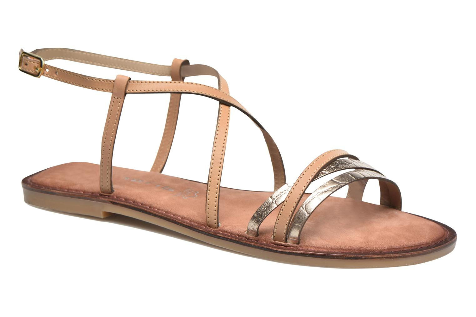 Sandals Tamaris Cabaret Brown detailed view/ Pair view