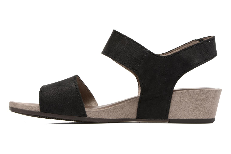 Sandales et nu-pieds Tamaris Tulia Noir vue face