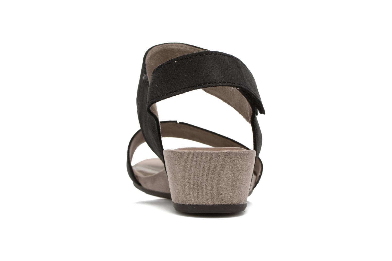 Sandales et nu-pieds Tamaris Tulia Noir vue droite