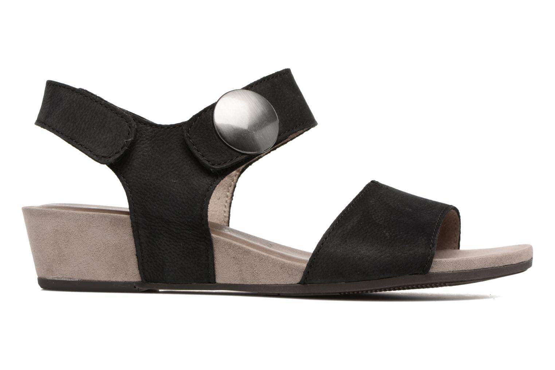Sandales et nu-pieds Tamaris Tulia Noir vue derrière