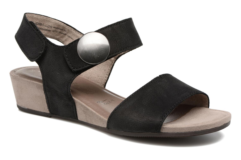 Sandales et nu-pieds Tamaris Tulia Noir vue détail/paire
