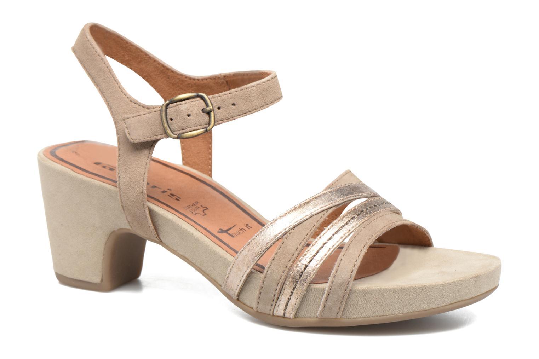 Sandales et nu-pieds Tamaris Euphorbe Beige vue détail/paire