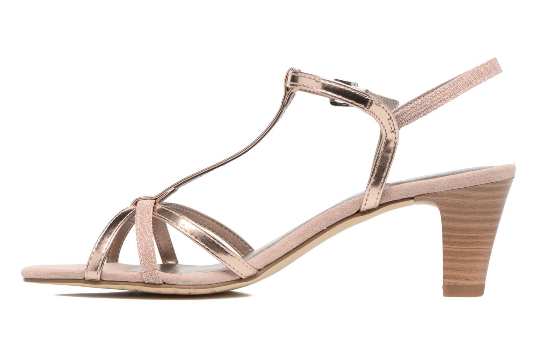 Sandales et nu-pieds Tamaris Carline Rose vue face