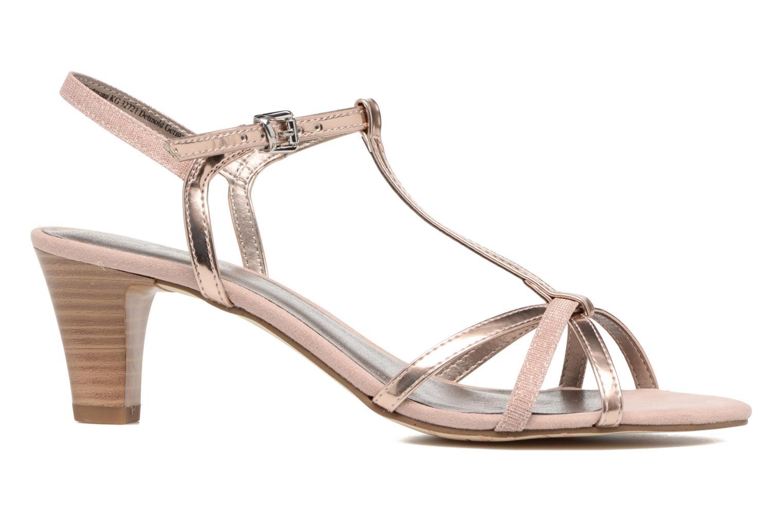 Sandales et nu-pieds Tamaris Carline Rose vue derrière