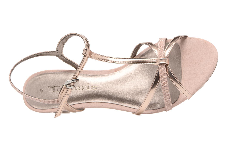 Sandales et nu-pieds Tamaris Carline Rose vue gauche