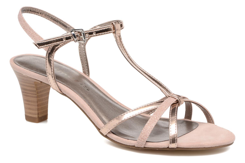 Sandales et nu-pieds Tamaris Carline Rose vue détail/paire