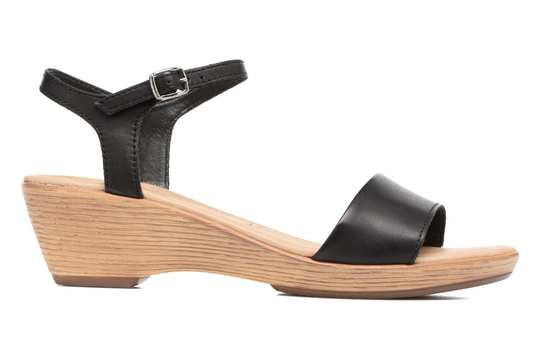 Sandales et nu-pieds Tamaris Balsa Noir vue derrière