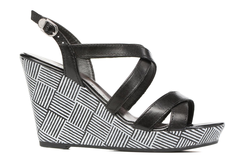 Sandales et nu-pieds Tamaris Azalée Noir vue derrière
