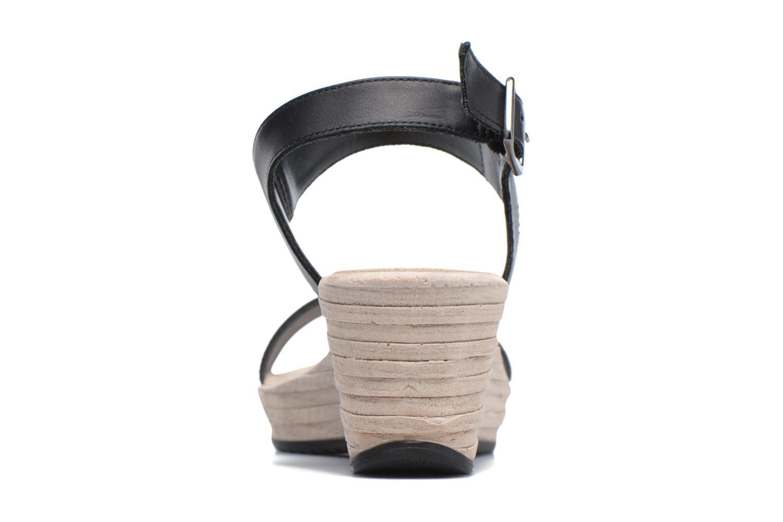Sandales et nu-pieds Tamaris Khat Noir vue droite