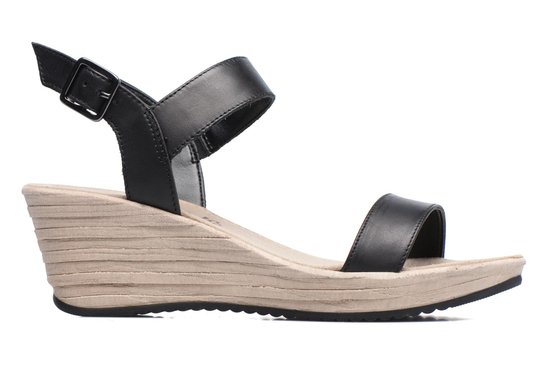 Sandales et nu-pieds Tamaris Khat Noir vue derrière