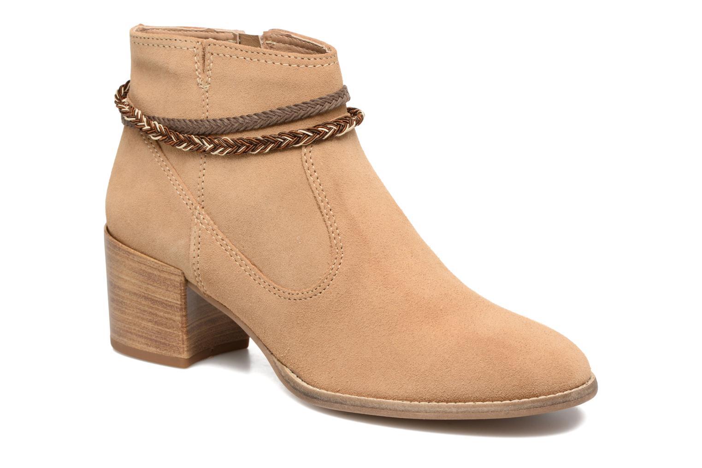 Marques Chaussure femme Tamaris femme Jarosse Camel