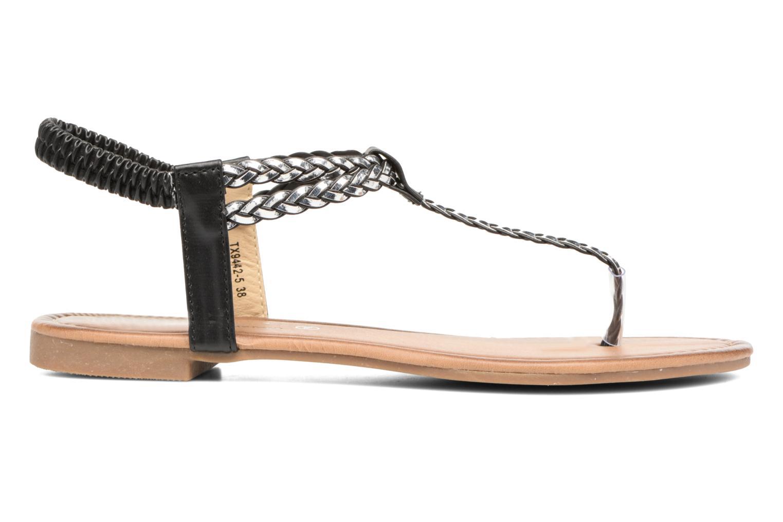 Sandales et nu-pieds Divine Factory Ahvido Noir vue derrière