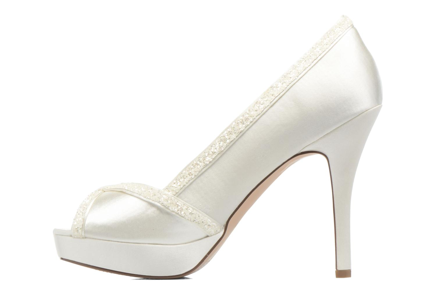 High heels Menbur ALMUDENA White front view