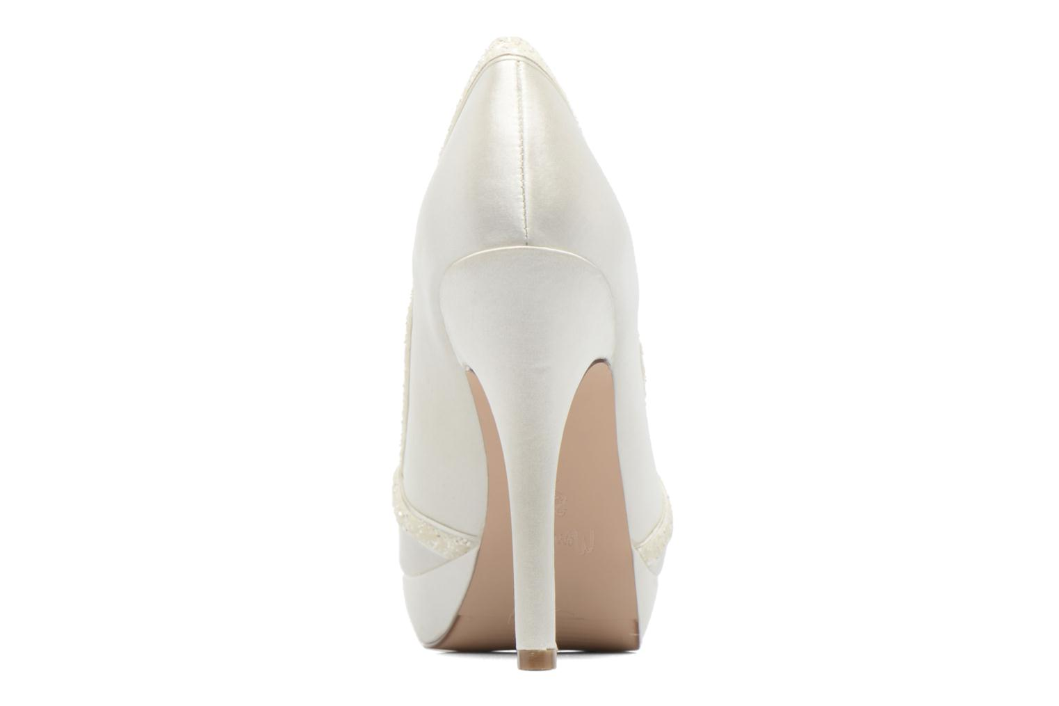 High heels Menbur ALMUDENA White view from the right