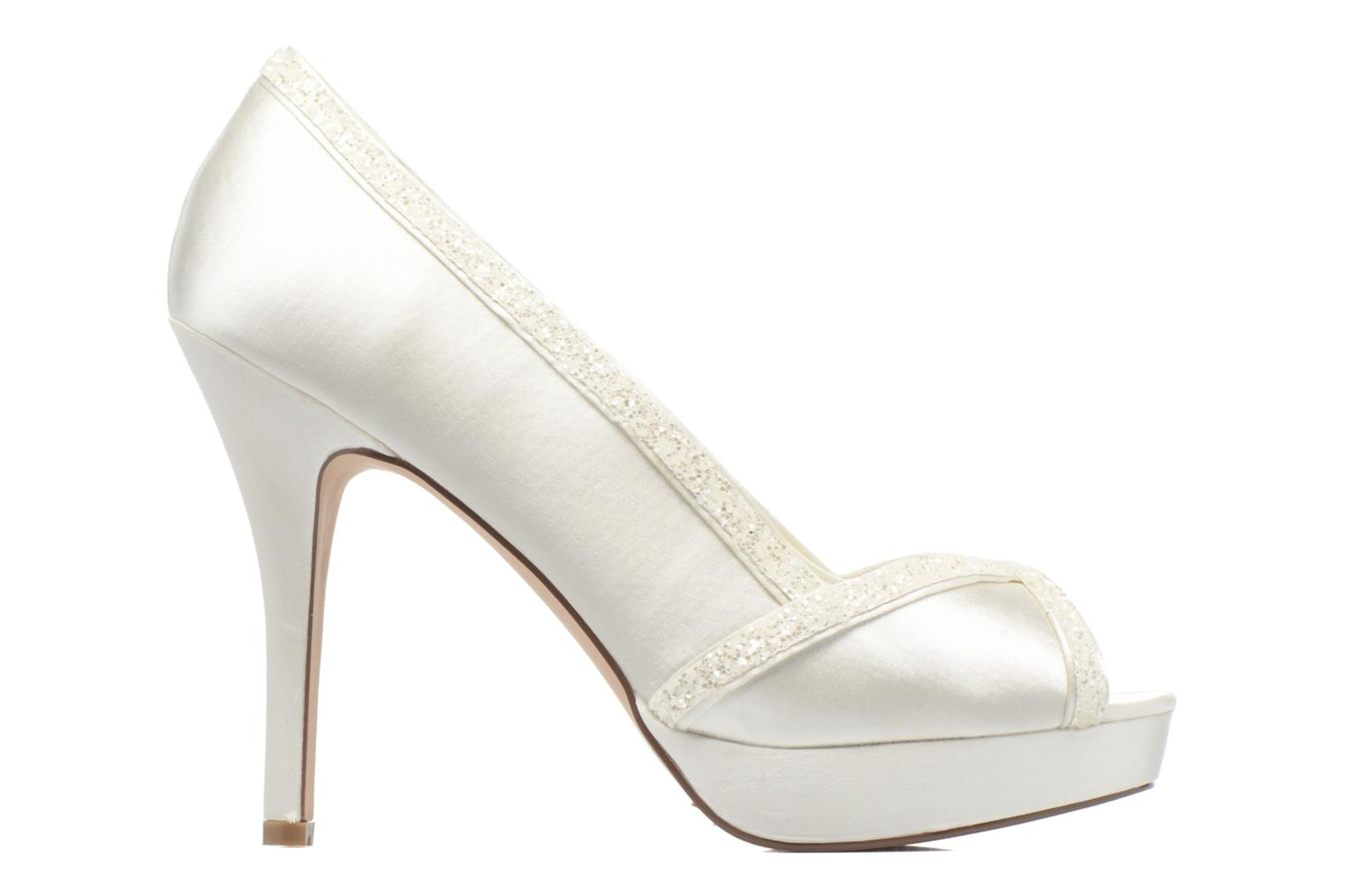 High heels Menbur ALMUDENA White back view