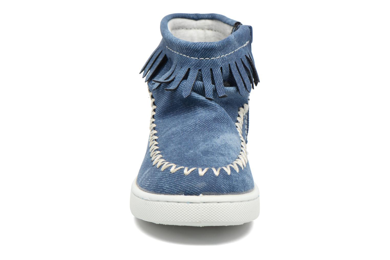 Bottines et boots Esprit JOJO FRINGY Bleu vue portées chaussures
