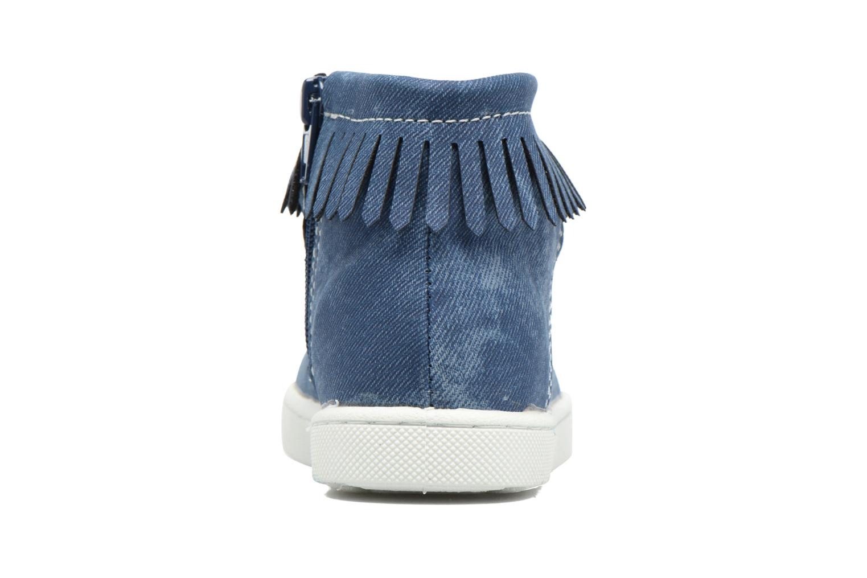 Bottines et boots Esprit JOJO FRINGY Bleu vue droite