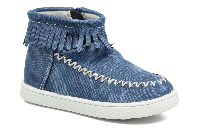 Bottines et boots Esprit JOJO FRINGY Bleu vue détail/paire