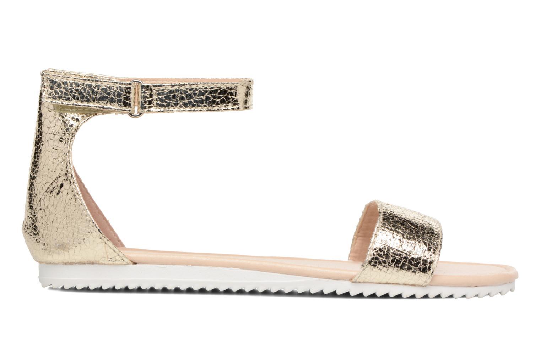 Sandales et nu-pieds Esprit MINA MET SANDAL Or et bronze vue derrière