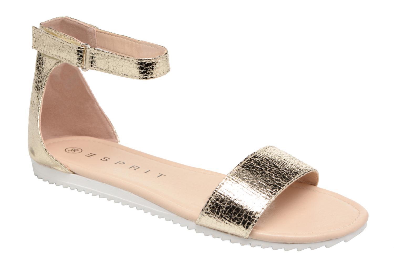 Sandales et nu-pieds Esprit MINA MET SANDAL Or et bronze vue détail/paire