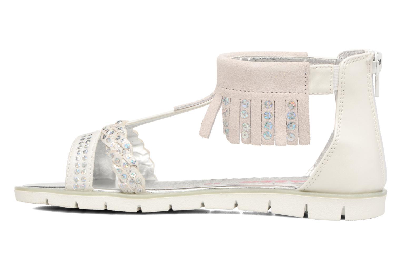 Sandales et nu-pieds ASSO Baccara Blanc vue face
