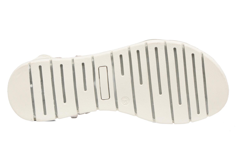Sandales et nu-pieds ASSO Baccara Blanc vue haut
