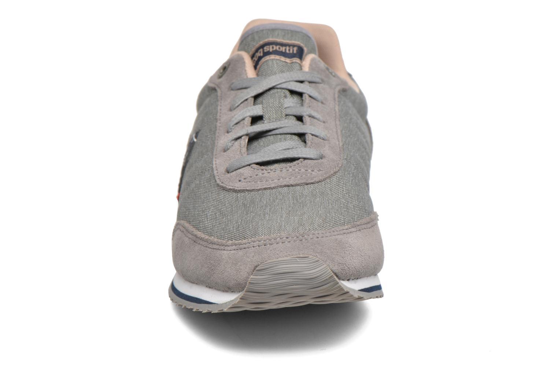 Baskets Le Coq Sportif Marsancraft 2 Tones/Suede Gris vue portées chaussures