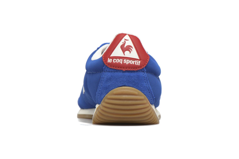 Baskets Le Coq Sportif Quartz Gum Bleu vue droite