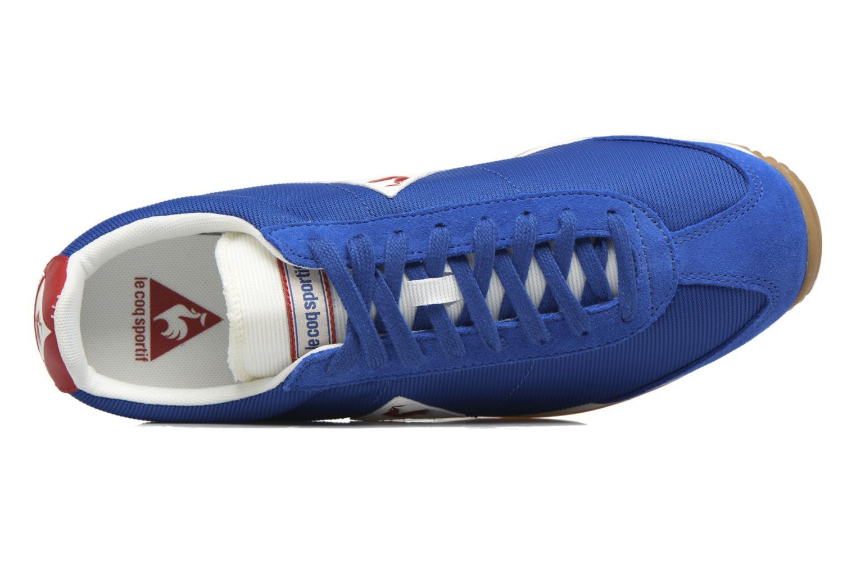 Baskets Le Coq Sportif Quartz Gum Bleu vue gauche