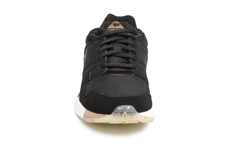 Baskets Le Coq Sportif Omega X W Metallic Noir vue portées chaussures