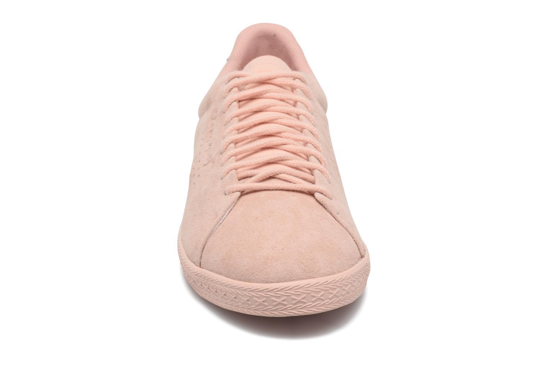 Baskets Le Coq Sportif Charline Nubuck Rose vue portées chaussures