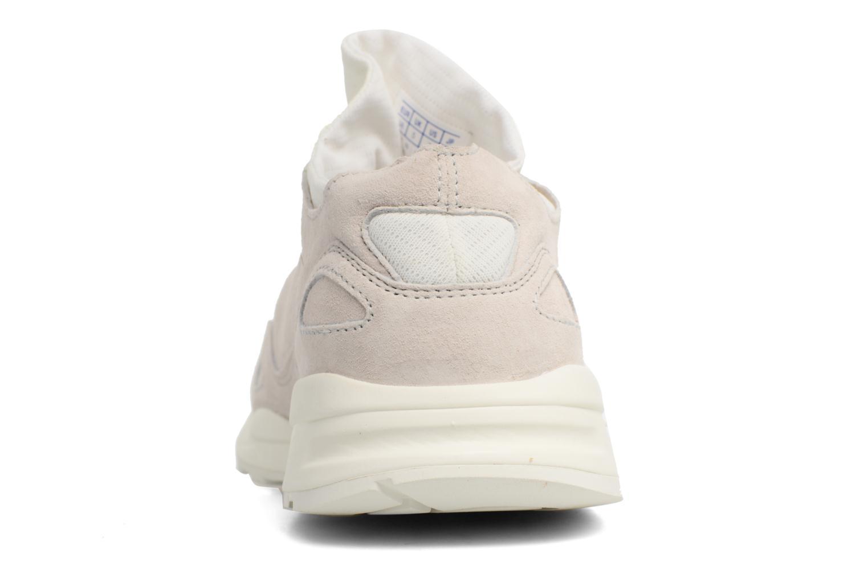 Sneakers Le Coq Sportif Lcs R Flow Nubuck Beige immagine destra