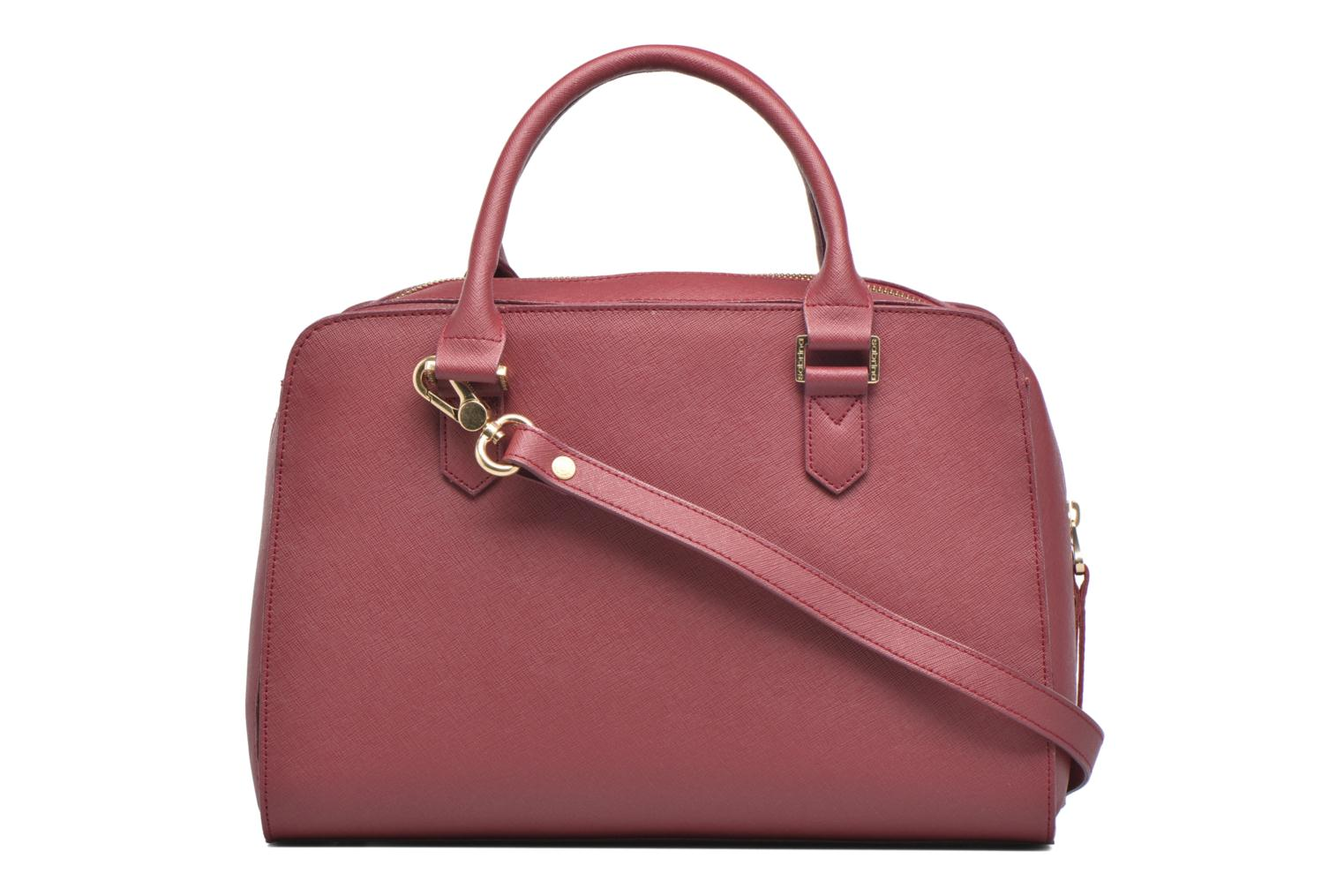 Carolina Saffiano Cranberry