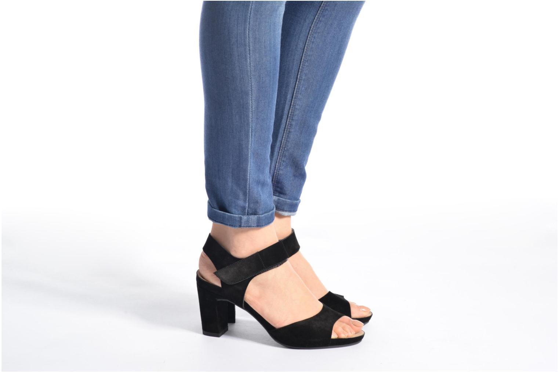 Sandales et nu-pieds Billi Bi Arabba Noir vue bas / vue portée sac