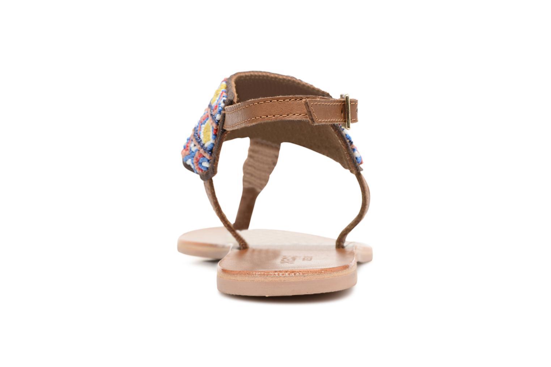 Sandales et nu-pieds Pieces Pscarol Marron vue droite
