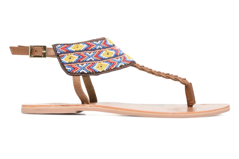 Sandales et nu-pieds Pieces Pscarol Marron vue derrière