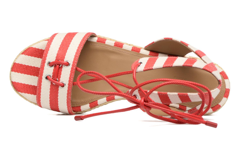 Sandales et nu-pieds Sonia Rykiel Sandale Plateau Rouge vue gauche