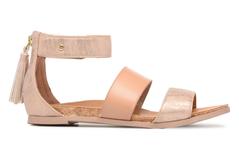 Sandalen UGG Marabel Metallic silber ansicht von hinten