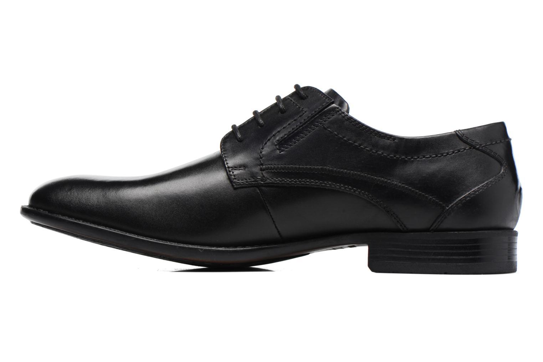 Chaussures à lacets Bugatti Baspare Noir vue face
