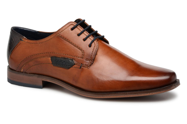 Bugatti Billano (Marron) - Chaussures à lacets chez Sarenza (282374)