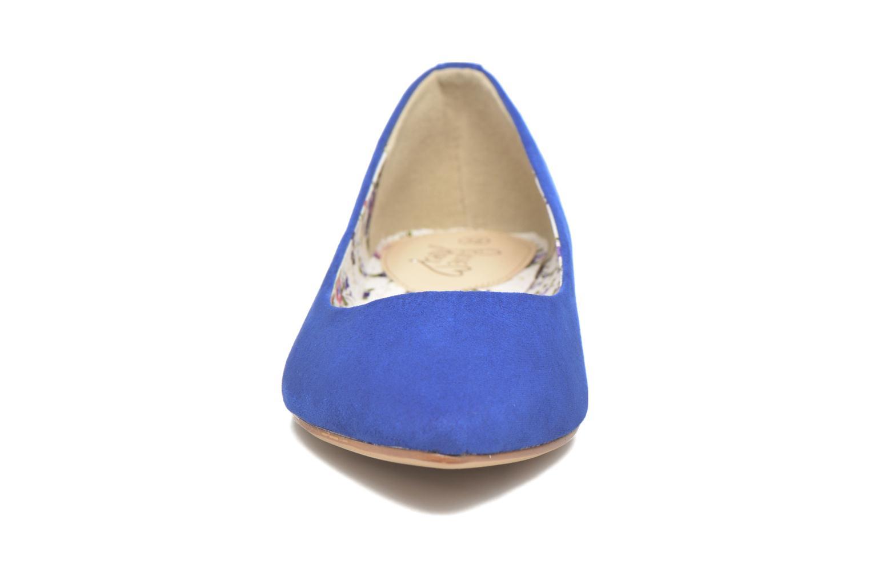 Bailarinas I Love Shoes BLOWN Azul vista del modelo